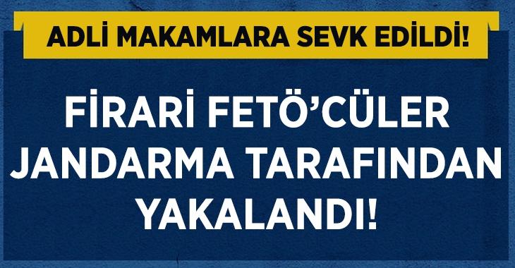 Firari FETÖ'cü Jandarma tarafından yakalandı!