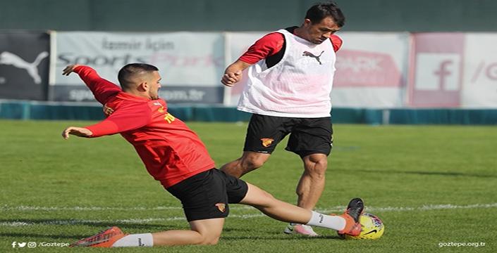 Göztepe'de Alanyaspor maçı hazırlıkları sürüyor!