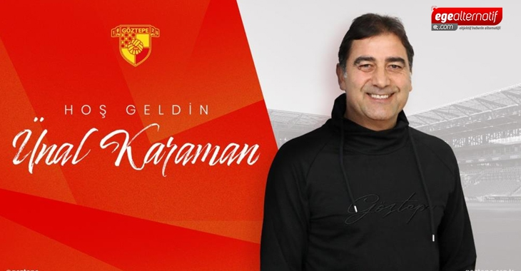 Göztepe, Ünal Karaman ile sözleşme imzaladı