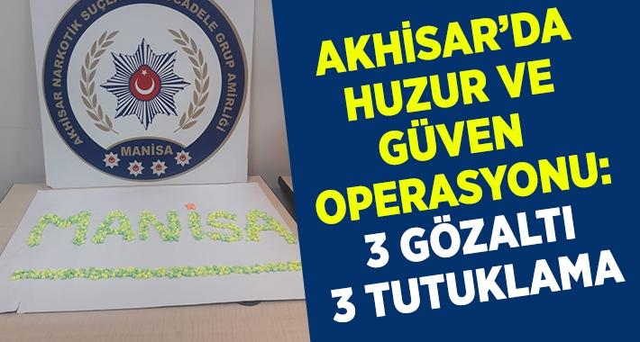 Huzur operasyonu: 3 tutuklama 3 gözaltı
