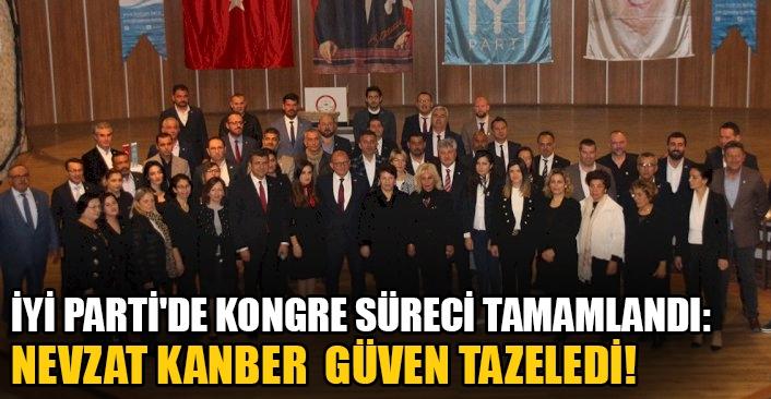 İYİ Parti'dekongre süreci tamamlandı: Nevzat Kanber güven tazeledi!