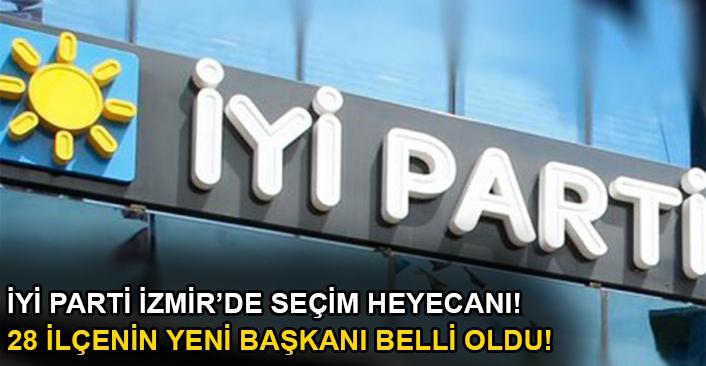 İYİ Parti İzmir'de seçim heyecanı!