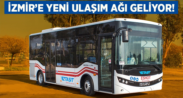 İzmir'de toplu ulaşımda İZTAŞIT dönemi başlıyor!