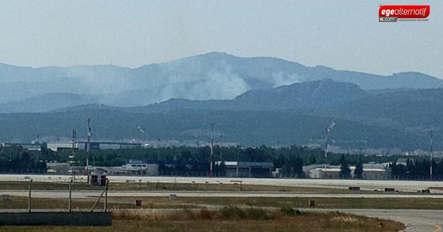 İzmir Menderes'te yine yangın!