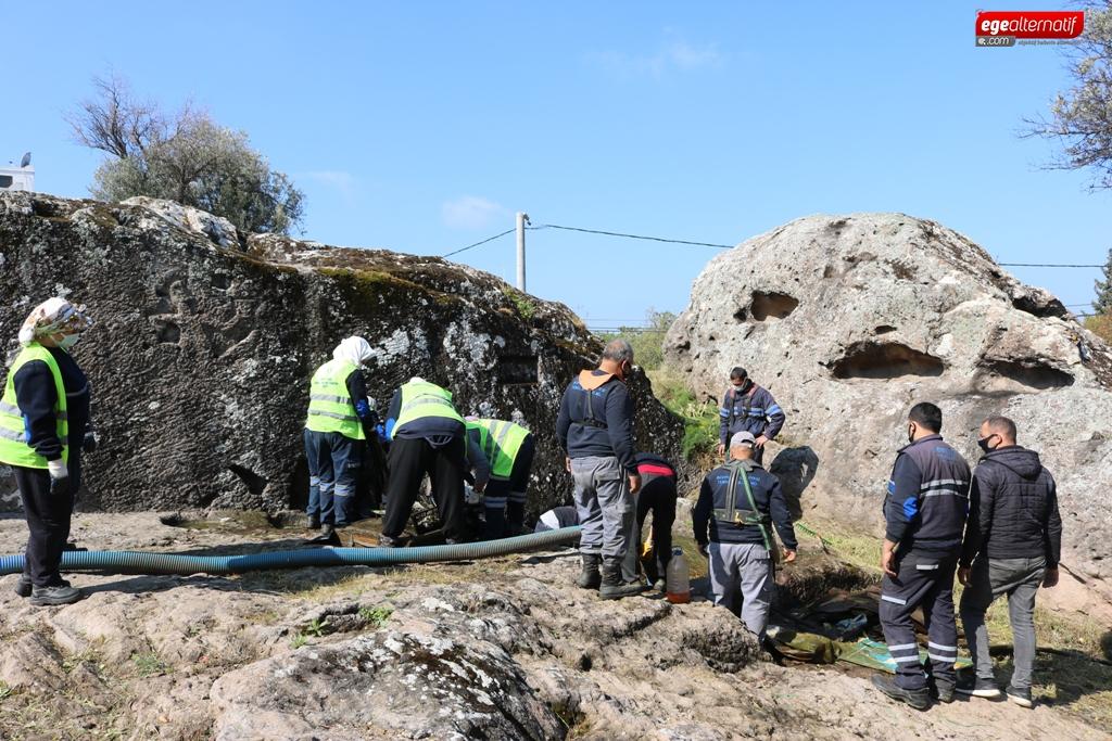 Kaya mezarlar turizme kazandırılıyor