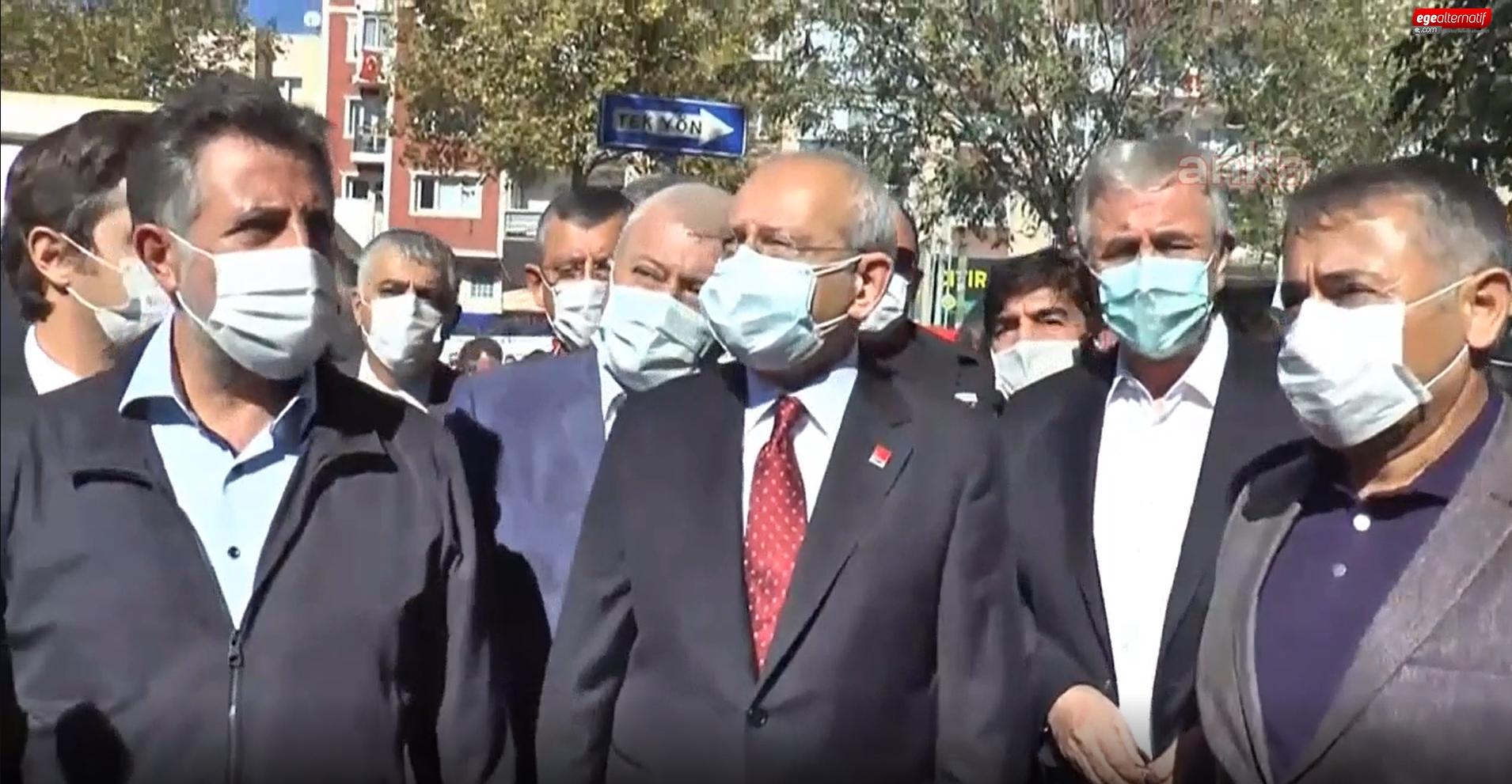 Kemal Kılıçdaroğlu deprem bölgesinde: İnsanlar çalışıyor, meşgul etmeyelim