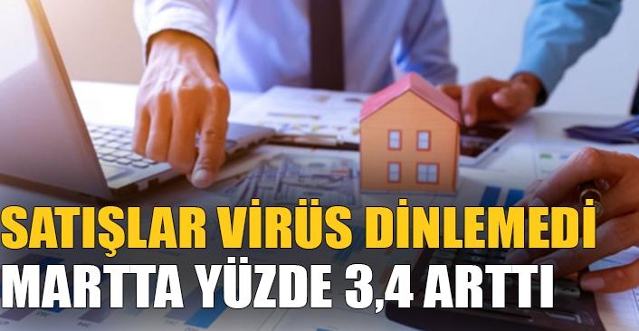 Konut Satışları Virüs Dinlemedi! Büyük artış yaşandı!