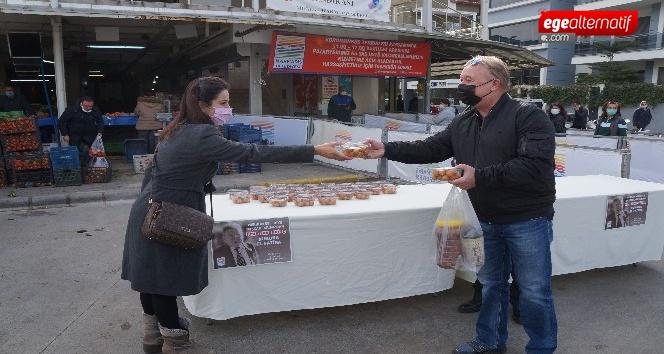 Marmaris Belediyesi eski başkan Karadinç'i unutmadı