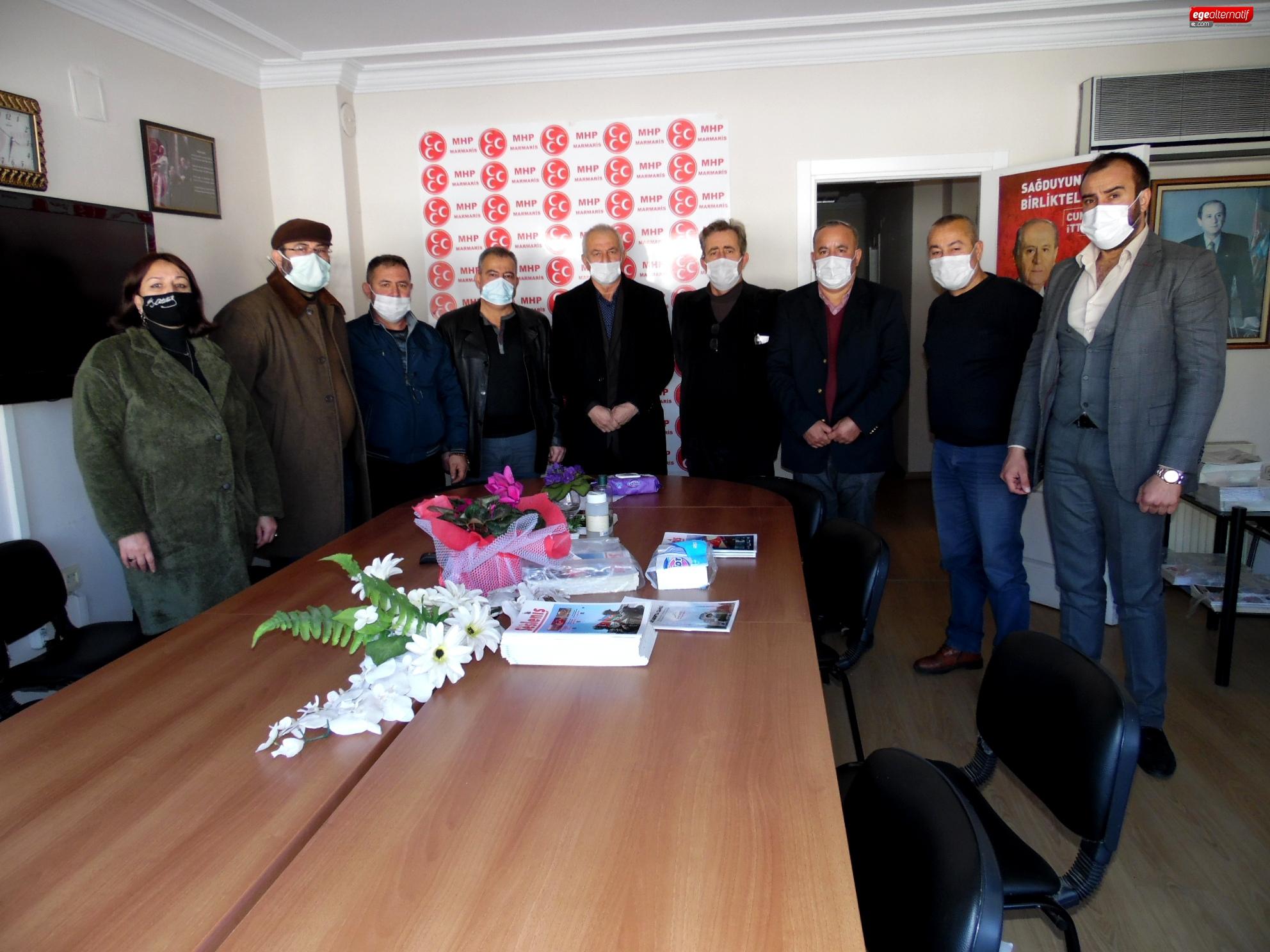 Marmaris'ten Ankara'ya Siyaset Üstü Birik