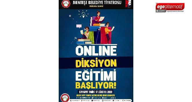Menteşe Belediyesi'nden online diksiyon eğitimi
