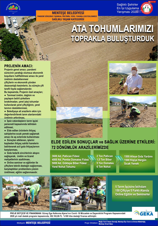 Menteşe Belediyesi'ne Türkiye Sağlıklı Kentler Birliği'den juri özel ödülü
