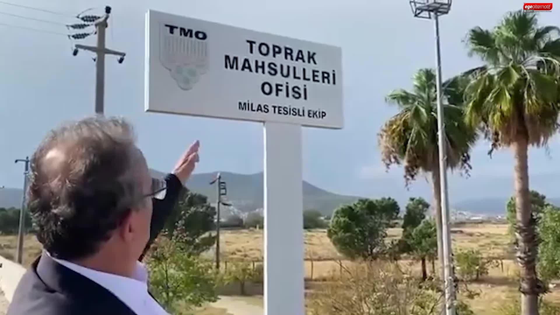 Milas Toprak Mahsulleri Ofisi tesisleri'ne ilişkin flaş gelişme! CHP'li vekil açıkladı!