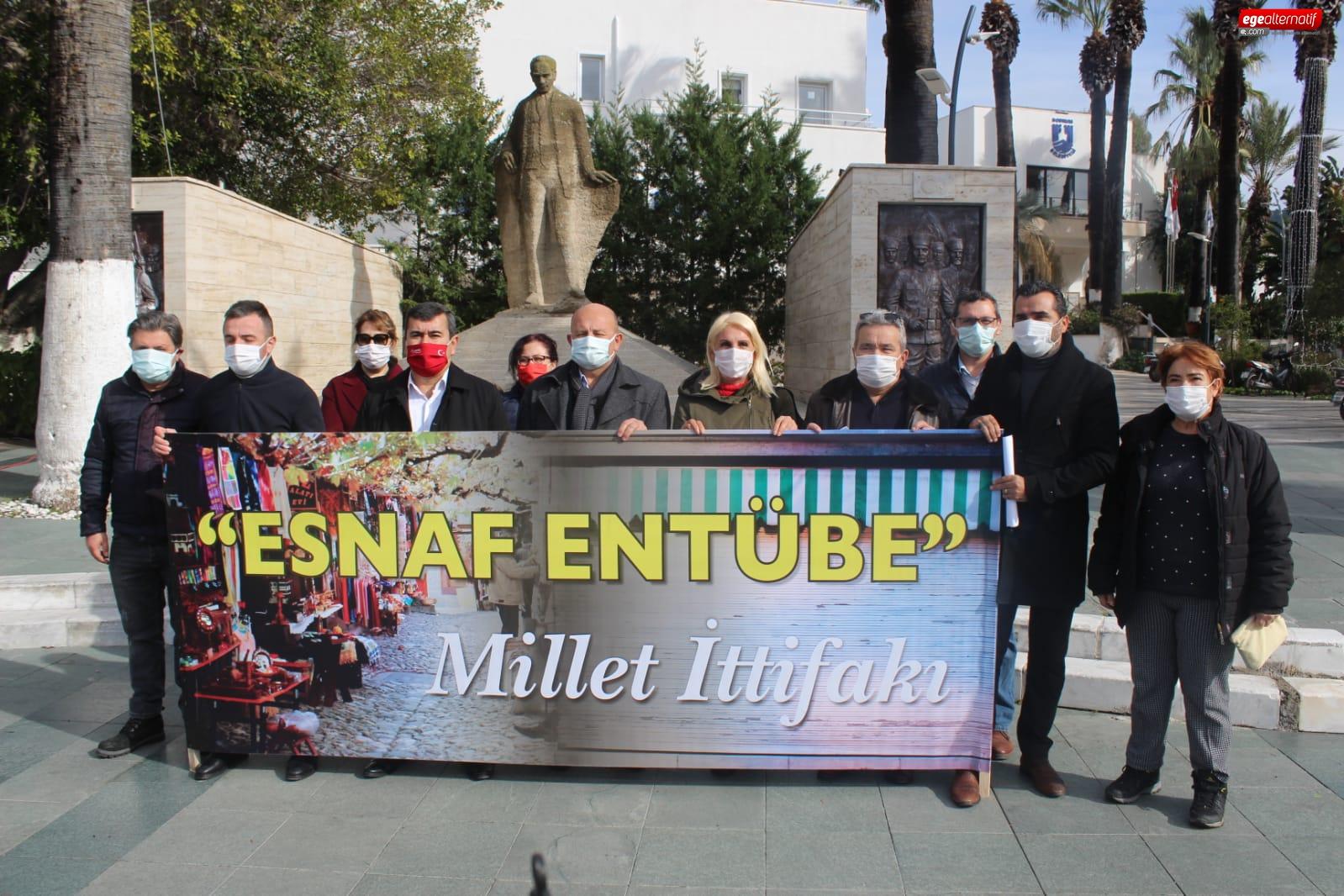 Millet İttifakı: Bodrum'da Esnaf Entübe durumunda