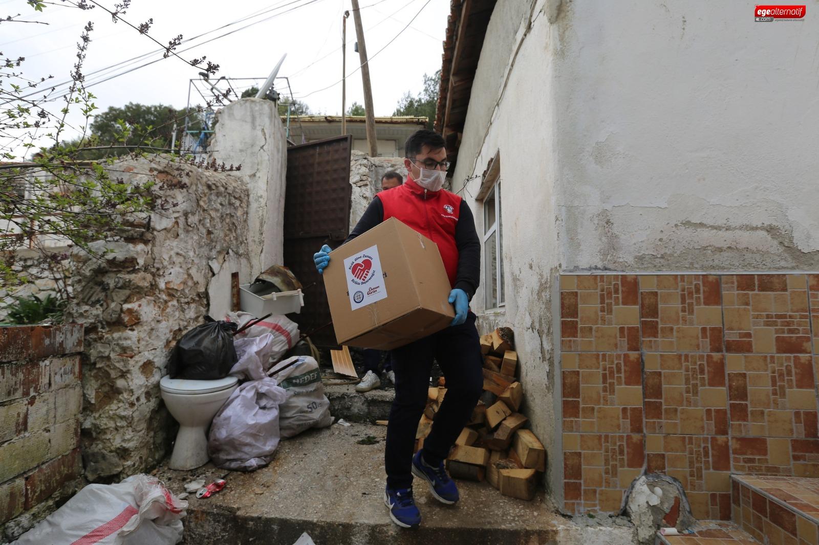 Muğla Büyükşehir, salgında vatandaşın yanında