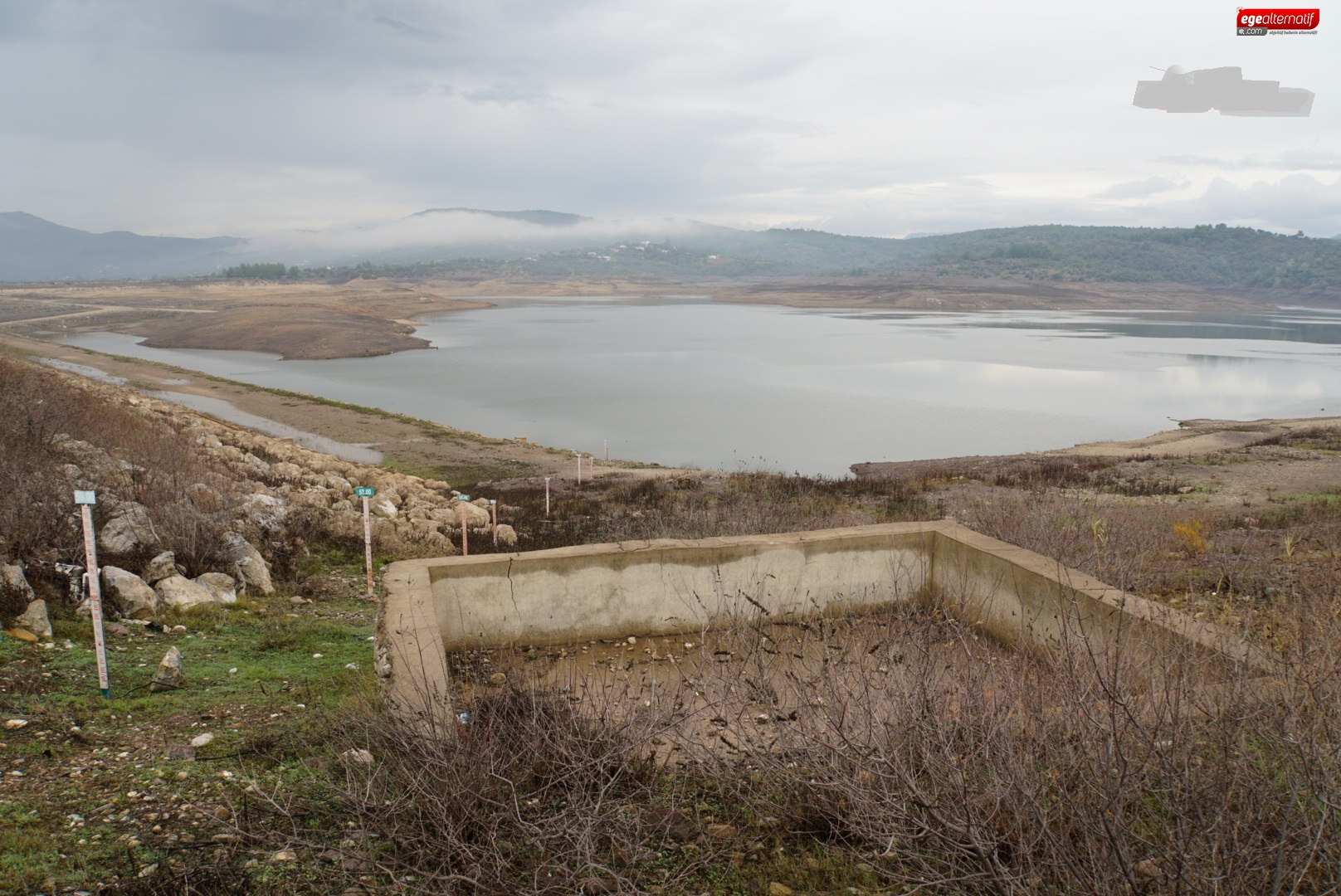 Muğla'nın suyunu karşılayan barajlar hayat buldu!