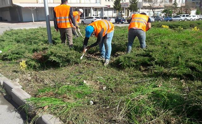 Seydişehir çevre temizliği yapıyor
