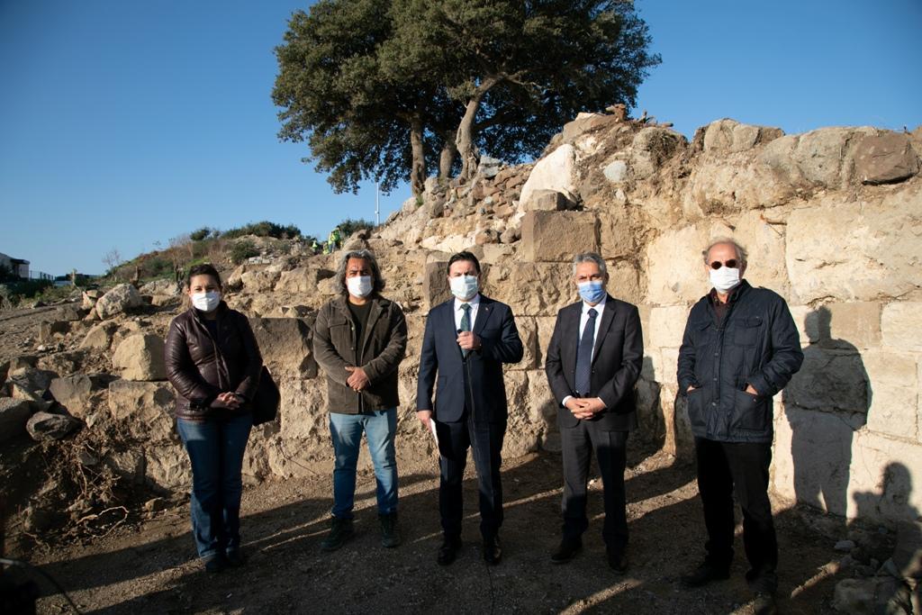 Tarihi 'Halikarnassos Surları' gün yüzüne çıkarılıyor