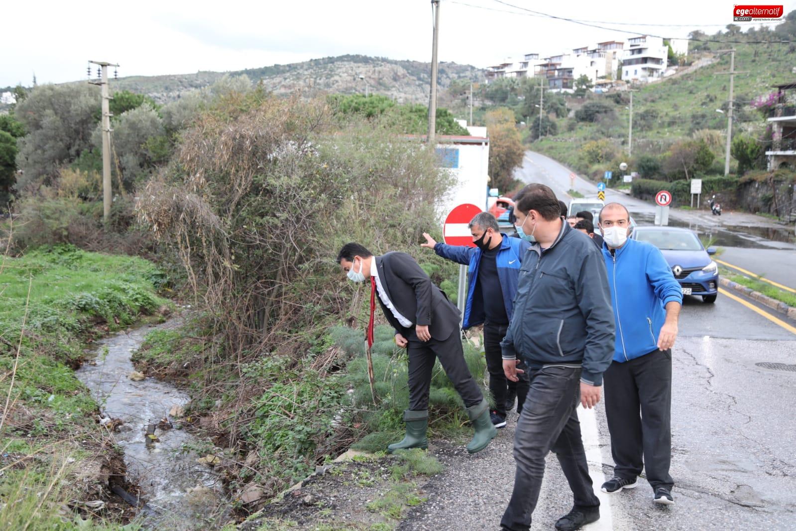 Taşkın Bölgelerinde incelemede bulunan Başkan Aras, yeni proje müjdesi verdi!
