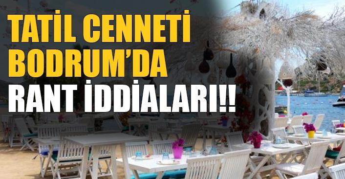 Tatil cenneti Bodrum'da rant iddiaları!!  Gümüşlük'teki rant iddialarının arkasında kim var?