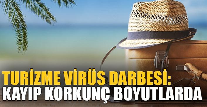 Turizme virüs darbesi: Kayıp korkunç boyutlarda