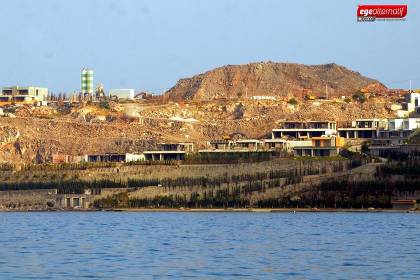 Türkbükü'nde turizm kompleksi projesinde 'olumsuz raporu' sümen altı edilmiş