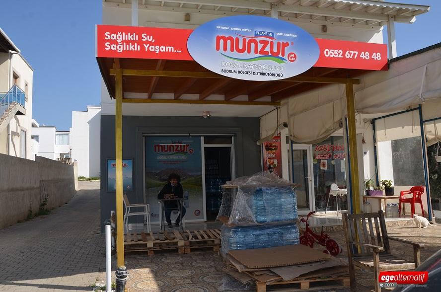 Türkiye'nin en sağlıklı suyu Munzur Su artık Bodrum'da!
