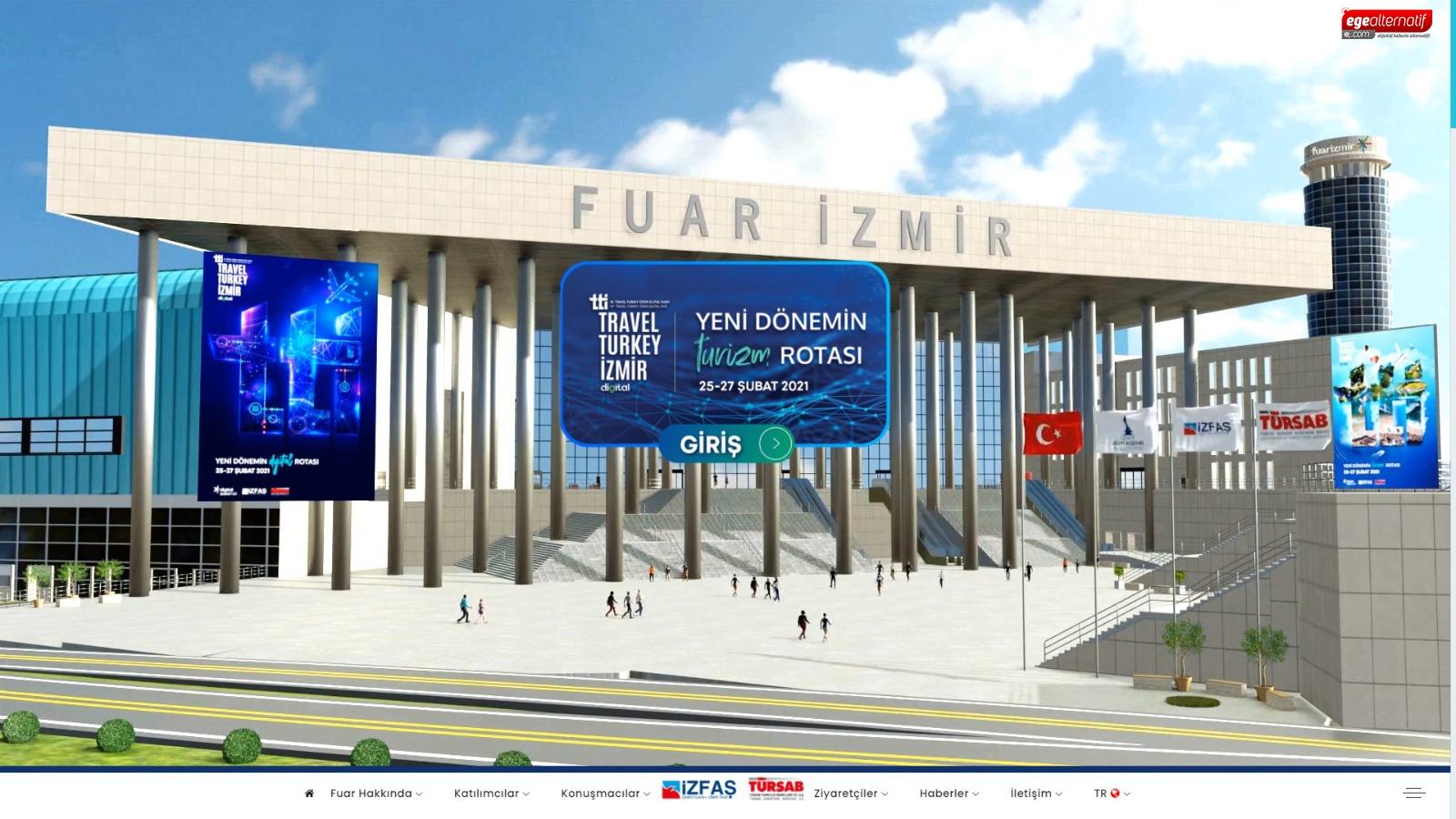 Türkiye'nin ilk sanal turizm fuarı açıldı