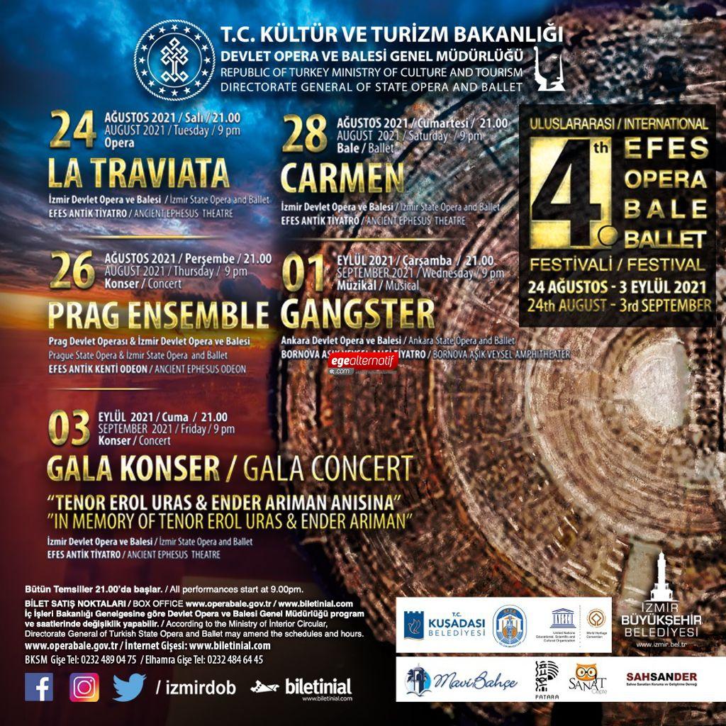 Uluslararası Opera Ve Bale Festivali Evine Dönüyor
